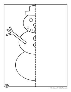 √ Worksheets Complete the Picture Snowmen . 1 Worksheets Complete the Picture Snowmen . Winter Snowman Finish the Picture Drawing Activity Finish The Drawing Worksheets, Symmetry Worksheets, Symmetry Activities, Drawing Activities, Art Worksheets, Art Therapy Activities, Winter Activities, Activities For Kids, Printable Worksheets