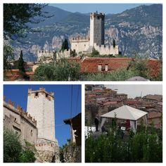 Venue - Malcesine Castle, Lake Garda, Italy - my friends wedding venue!