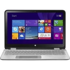 """awesome HP ENVY x360 15-u110dx / 2-in-1 15.6"""" Touch-Screen Laptop / Intel Core i5 / 8GB Memory / 1TB Hard Drive - Silver/Black - For Sale"""