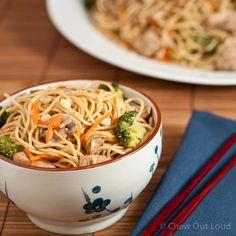 Dan-Dan Noodles (Mein) - Chew Out Loud
