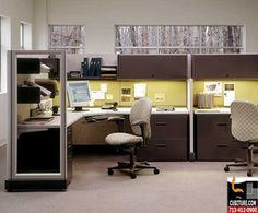 Work Cubicles Offer Businesses A Number Of Advantages Work Cubicle Open Concept Office Workspace Design