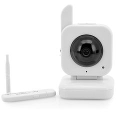 Digital Wireless Baby Monitor with USB Receiver (1/4 Inch CMOS, 0.3MP, 5m Night Vision)