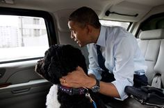 Our president and Boo