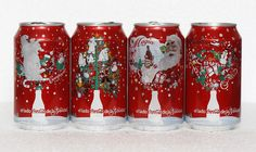 Coke Christmas Soda Can