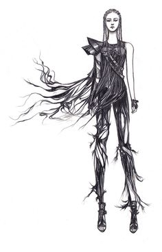Character 1 - Concept work I did for Skingraft Video can be seen here with my credit:http://vimeo.com/65945629