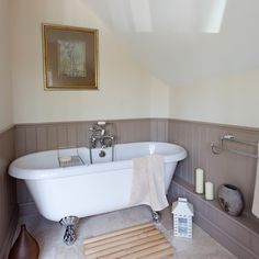 Bathroom | Take a tour around a remodelled country home in Norfolk | House tour | PHOTO GALLERY | 25 Beautiful Homes | Housetohome.co.uk