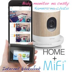 Withings Home + Mifi 2 Mobile Hotspot - HD kamera (babymonitor) s mobilným internetom Baby Monitor, Storage, Home, Purse Storage, Larger, Ad Home, Homes, Haus, Store