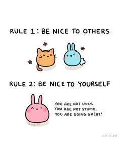 positive bunny posts