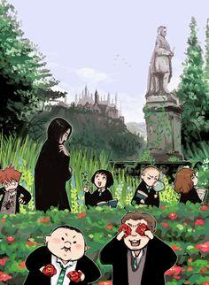 Aw lil Slytherins!