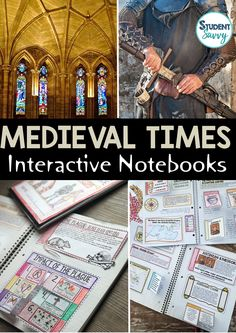 Middle Ages Interactive Notebooks