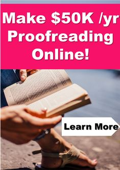 Do you want to learn how to proofread anywhere for bloggers, online entrepreneurs and make money as a freelance proofreader online? Caitlin Pyle's Proofread Anywhere course is the industry gold standard for proofreading courses. Earn Extra Money Online, Earn More Money, Ways To Earn Money, Money Fast, Way To Make Money, How To Make, Online Side Jobs, Legit Online Jobs, Cash Today