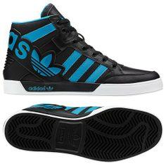 adidas Hard Court Hi Big Logo Shoes Addidas Sneakers, Sneakers Fashion, Fashion Shoes, Mens Fashion, Adidas High Tops, Logo Shoes, Popular Sneakers, Adidas Shoes Women, Baskets