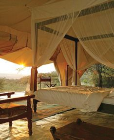 Afternoon nap? Imagine yourself on this luxurious safari with Micato Safaris