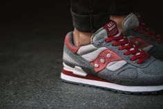 "Picture of  A Closer Look at the BAIT x Saucony Shadow Original CruelWorld 4 ""Midnight Mission"""