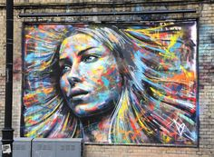An awesome day! David Walker (www.facebook.com/artofdavidwalker), a superb artist working with spraypaint alone, is going to be in the Global Street Art book. Thanks David - your art is amazing! You can support the book here: http://unbound.co.uk/books/global-street-art.
