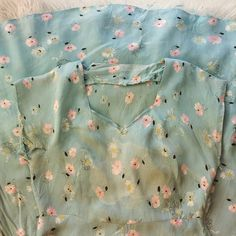 """From my private collection- #vintage #floral #rayon #dress #circa1950s"""
