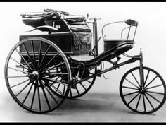 The Benz Patent-Motorwagen Number 3 of used by Bertha Benz for the first long distance journey by automobile (more than 106 km or sixty miles) Mercedes Benz, Bertha Benz, Benz Patent Motorwagen, Le Tricycle, Carl Benz, Automobile, Go Car, V & A Museum, Henry Ford