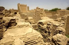 View of the archaeological site of Babylon on the outskirts of Baghdad. Babylon's Hanging Gardens were one of the Seven Wonders of the Ancient World. Iraqi architects and historians have decried official neglect of historical buildings nationwide, many of which have fallen into disrepair and disuse, and called for greater attention to be paid to them