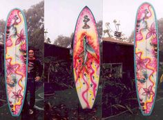 FLYING FISH SURF BOARD AND ART BY SHANNON MCINTYRE