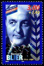 Bernard Blier 1916-1989 Acteurs de cinéma français - Timbre de 1998