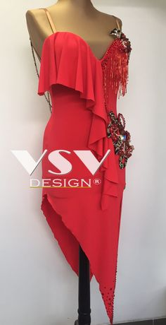 Beautiful Laeticia Latin dress by VSV Design, made with professionalism and tailored to the needs of our clients with attention to every detail. Latin Ballroom Dresses, Ballroom Dance Dresses, Latin Dresses, Baile Latino, Dance Accessories, Dance Fashion, Dance Outfits, Dance Costumes, Dance Wear