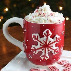 Red & white giant snowflake mug love this mug
