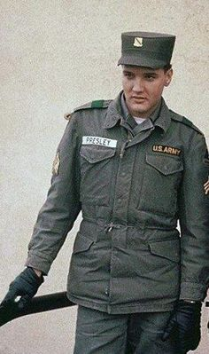 Elvis images US Army - new