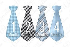monthly ties