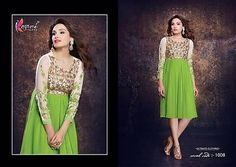 STITCHED DESIGNER KURTIS NEW STYLE PARTY WEAR FROCK CASUAL KURTI INDIAN KAMEEZ