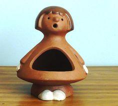 Lisa Larson Style California Pottery Figural Candle $32.00