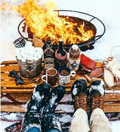 Fire  Hot Cocoa  Marshmallows  Whiskey. Rise. Go boldly. Be great. And long live the long weekend!  Blog: http://ift.tt/1vCV6pv  Courtesy: Outdoor Cooking  #likeaboss #riseandshine #morning #sunrise #breakfast #breakfastinbed #caffeine #coffee #blackgold #java #joe #espresso #latte #whiskey #travel #instatravel #travelgram #vacation #roadtrip #camping #style #kcco #weekend #saturday #superbowl #chocolate #cocoa #withchocolateicandoanything