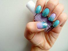 precious polish: Modern Mermaid nails