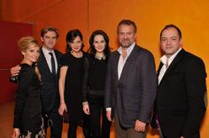 """""""Downton Abbey Screening and Cast Q&A"""". UGH. SO JEALOUS of Tom and Lorenzo."""
