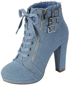 fc75b54e8bb8 Forever Link Women's Round Toe Heel Bootie >>> Very nice of
