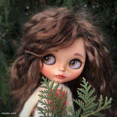 Blythe Doll Módní Fabric Šaty Dekorativní hračka docela