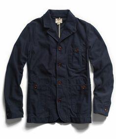 Navy Knit Blazer - Todd Snyder NY