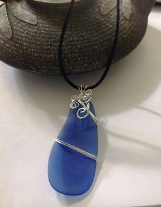 Genuine Cobalt Blue Delaware Sea Glass by EllendaleMtnDesigns, $26.00