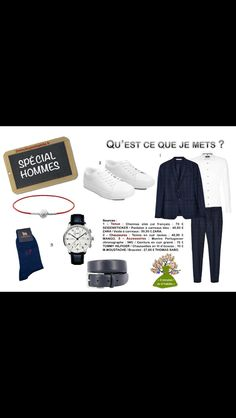 SPECIAL #HOMMES. Combo gagnant : #costume + #sneakers.#IWC #mmoustache #zara #look #menlook #hilfiger 2minutesjemhabille.fr