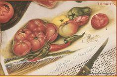 Tomate, pimenta e pimentões 1