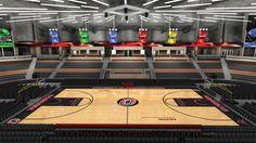 Ralston Arena, home of UNO basketball.