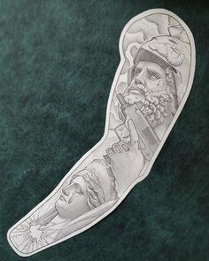 Zeus athena mars art tattoo sketch gangsta uzi gun flash - tattoo designs ideas männer männer ideen old school quotes sketches Forarm Tattoos, Dope Tattoos, Body Art Tattoos, Tribal Tattoos, Sailor Tattoos, Arabic Tattoos, Best Sleeve Tattoos, Tattoo Sleeve Designs, Tattoo Designs Men