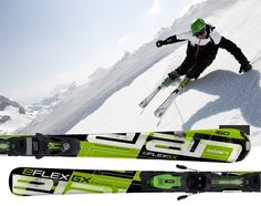Downhill snow skis - Pin it :-) Follow us, CLICK IMAGE TWICE for Pricing and Info . SEE A LARGER SELECTION of Downhill snow skis at http://bestskistuff.com/product-category/downhill-snow-skis/ - snowboard, snow sports, gift idea , skii, skiing - Elan Eflex GX skis 168cm men's with elan EL10 Bindings set New