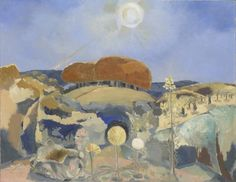 """Landscape of the Summer Solstice"" by Paul Nash, 1943"