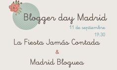 Blogger day madrileño http://patriblanco-patricia.blogspot.com.es/2014/09/blogger-day-madrileno.html