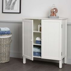 BuyJohn Lewis St Ives Double Towel Cupboard Online at johnlewis.com