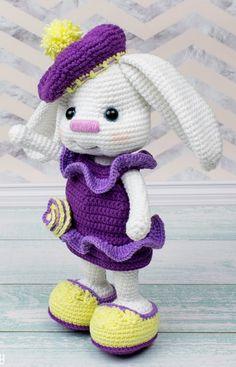 Amigurumi Sarkık Kulaklı Tavşan Tarifi, Amigurumi tavşan yapımı