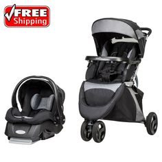 Evenflo Advanced SensorSafe Epic Baby Travel System Infant Stroller W/ Car Seat   Baby, Strollers & Accessories, Strollers   eBay!