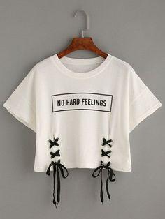 No Hard Feelings- Crop Top