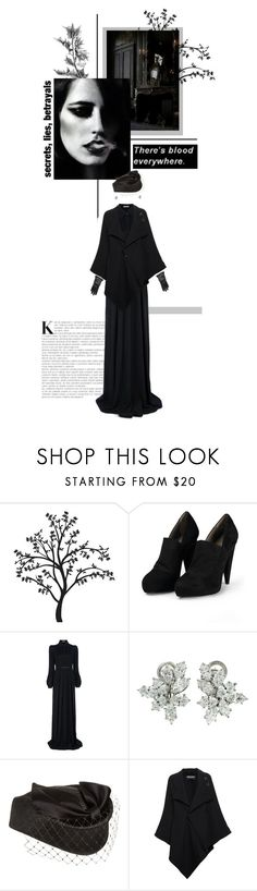 """""""Bitte geh nicht fort"""" by alexvishnevskaya ❤ liked on Polyvore featuring WALL, Acne Studios, Givenchy, Harry Winston, Roland Mouret and Lanvin"""