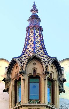 Casa Marià Ratés i Homs  1908-1909  Architect: Isidre Gili i Moncunill